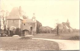Dépt 80 - MOYENCOURT-LÈS-POIX - ÉPREUVE De CARTE POSTALE (photo R.LELONG) + PLAQUE De VERRE D'origine - Maison Du Bailly - France