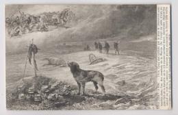 FIDÈLE JUSQU'A LA MORT - Chien Sur Une Tombe De Soldat - Guerre 1914 - Champ De Bataille - Guerre 1914-18