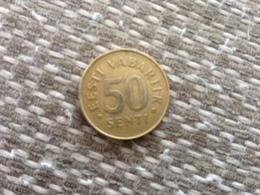 50  Senti  1992 - ESTONIA - VF - Estonia