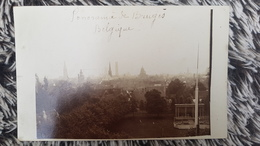 BRUGES BRUGGE - CARTE PHOTO RARE - PANORAMA DE BRUGES - BELGIQUE BELGIUM - Brugge