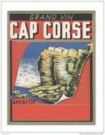 Etiquette Cap Corse - Labels