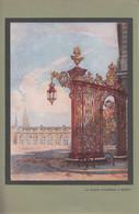 Vers 1930 - Illustration - Nancy (Meurthe-et-Moselle) - La Place Stanislas - FRANCO DE PORT - Vieux Papiers