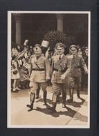 Dt. Reich AK Hitler Mussolini Historische Begegnung 1940 - Historische Persönlichkeiten