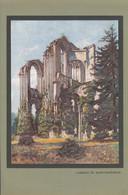 Vers 1930 - Illustration - Saint-Wandrille-Rançon (Seine-Maritime) - L'abbaye - FRANCO DE PORT - Vieux Papiers