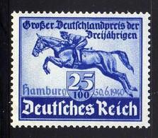 Deutsches Reich, 1940, Mi 746 **, Das Blaue Band [260818LAII] - Alemania