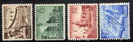 Deutsches Reich, 1940, Mi 739-742 **, Leipziger Messe [260818LAII] - Allemagne