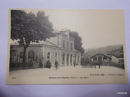 SALINS LES BAINS-La Gare - Altri Comuni