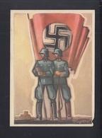 Dt. Reich PK Tag Der Dt. Polizei Ordnungspolizei Mangelhft - Weltkrieg 1939-45