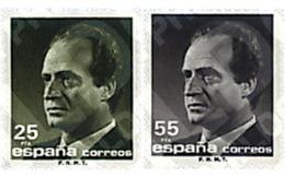 Ref. 86155 * MNH * - SPAIN. 1990. JUAN CARLOS I . JUAN CARLOS I - 1981-90 Nuevos & Fijasellos