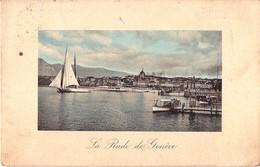CPA - La Rade De Genève En 1910 - GENEVE Suisse - N° J. J. 8640 - Phot-Edit. Jullien Frères Genève - GE Geneva