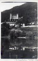 MELIDE - 1914 - IL CASTELLO - Cartolina Fotogrfia - Firmata RAFFI??  - SVIZZERA - NON VIAGGIATA - Suisse