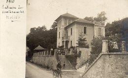 MELIDE - 1910 - Cartolina Fotogrfia - Al Retro Timbro GIUSEPPE BATTELLI - MILANO - SVIZZERA - NON VIAGGIATA - Suisse