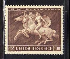 Deutsches Reich, 1941, Mi 780 **, Das Braune Band [260818LAII] - Neufs