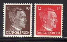 Deutsches Reich, 1942, Mi 826-827 ** [260818LAII] - Allemagne