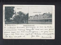 Hungary PPC Dombóvár 1901 Railroad Station - Hungary