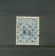 Puntstempel 43 (Grave) Op Nvph 35 - Periode 1891-1948 (Wilhelmina)