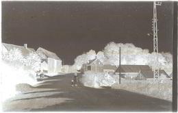 Dépt 80 - MARIEUX - PLAQUE De VERRE (négatif Photo Noir & Blanc, Cliché R. Lelong) - La Route D'Amiens - France