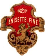Ancienne étiquette D' Anisette - Imprimeur Després - Other