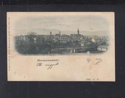 Romania PPC Hermannstadt 1899 - Romania