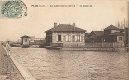 PARIS (XIXè) - Le Canal Saint-Denis - Les Ecluses - District 19
