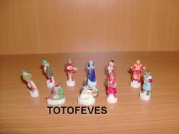 SERIE COMPLETE LES MUSICIENS CLASSIQUE DE 10 FEVES N°008 - Autres