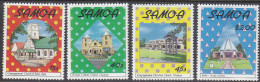 SAMOA, 1988 XMAS 4 MNH - Samoa