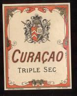 Etiquette  De  Curaçao  Triple Sec - Labels