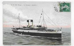 DIEPPE - N° 1361 - LE STEAMER ARUNDEL - CPA VOYAGEE - 76 - Ferries