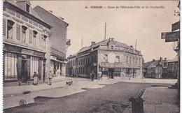 Aisne -  HIRSON - Rues De L'Hôtel De Ville Et De Charleville - Hirson