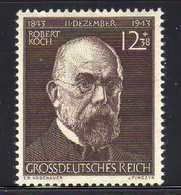 Deutsches Reich, 1944, Mi 864 ** Robert Koch [260818LAII] - Allemagne
