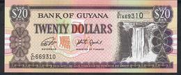 GUYANA P30 20 DOLLARS ( 2018 ) Prefix C/51    UNC. - Guyana
