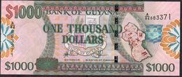 GUYANA P39 1000 DOLLARS Signature 14 ( 2011 )     UNC. - Guyana