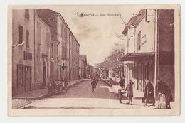 13 Charleval, Rue Nationale. Carte Inédite (A4p64) - Andere Gemeenten