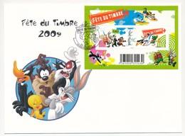 Enveloppe - Fête Du Timbre / Bloc Feuillet - AIX-EN-PROVENCE - 28/2/2009 - FDC
