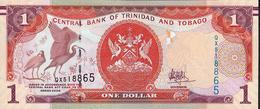 TRINIDAD AND TOBAGO  P54b 1 DOLLAR  Signature 10 ( 2017 )  UNC.    UNC. - Trinité & Tobago