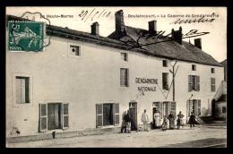 52 - DOULAINCOURT - LA CASERNE DE GENDARMERIE - Doulaincourt