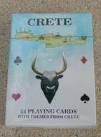Grèce Jeu De 54 Cartes Crète - Jeux De Société
