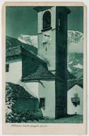 C.P.  PICCOLA   CHIESETTA  DI  MONTAGNA  DA  IDENTIFICARE       2 SCAN   (NUOVA) - Cartoline