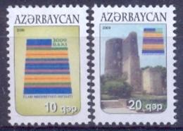 AZ 2009 DEFINITIVE, ASERBEDIAN, 1 X 2v, MNH - Aserbaidschan