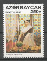 AZ 1996 FOMOSE PERSONS, ASERBEDIAN, 1 X 1v, MNH - Berühmt Frauen