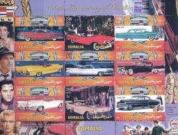 Somalie 2002 - MNH ** - Voitures - Cadillac - Bloc (som014) - Somalie (1960-...)