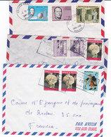 LOT DE 5  LETTRES, DeBOLIVIE ARGENTINE,VENEZUELA ,   ( L0818/51) - Stamps