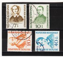 NEU944 DEUTSCHLAND B R D 1955 Michl 222/25  Gestempelt SIEHE ABBILDUNG - Gebraucht