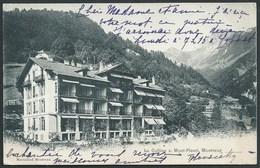 SUISSE MONTREUX  (VAUD )  PRECURSEUR...LA COLLINE S. MONT- FLEURI....C2861 - VD Vaud