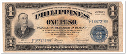 PHILIPPINES,1 PESO,1944,P.94,VF,FEW  PIN HOLES - Philippines