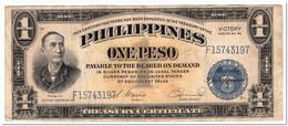 PHILIPPINES,1 PESO,1944,P.94,VF - Philippines