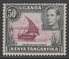 Kenya 1938 Issues Of 1935 But With Portrait Of King George VI  50c * LMM - Kenya, Uganda & Tanganyika