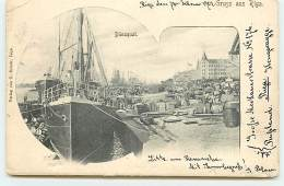 Gruss Aus RIGA - Dünaquai - Lettonie
