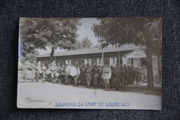 Souvenir Du CAMP De SOUGE, La Fanfare  -1927 - Otros Municipios