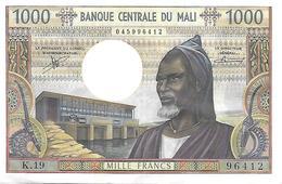 Billet, Mali, 1000 Francs, Undated (1970-1984),  Neuf Pas Circulé - VOIR LES 2 SCANS - Mali